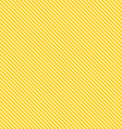 Seamless yellow stripe background vector