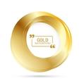 Beautiful Gold Circle vector image