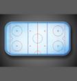 Hockey stadium vector image