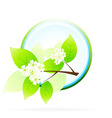 tree branch icon vector image vector image