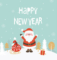 Card for new year vector image