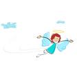 fairy girl vector image