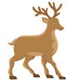 deer 01 vector image