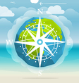 Vacation travelling concept Travel vector image vector image