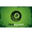 billiard Billiard logo design Billiard ball vector image