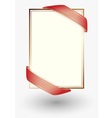 sheet of paper vector image vector image