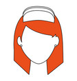 female nurse icon image vector image