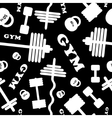 Gym Seamless pattern vector image