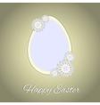 HappyEaster2 vector image