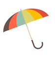 Retro Paper Umbrella - Parasol vector image