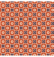 Seamless simple retro geometrical pattern of vector image vector image