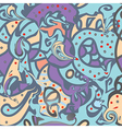 Pailsey whimsical seamless pattern vector image vector image