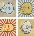 piggy bank s vector image