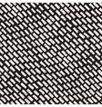 Seamless Hand Drawn Diagonal Grunge Strokes vector image