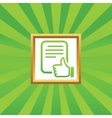 Good document picture icon vector image