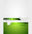 Green grey tech contrast background vector image vector image