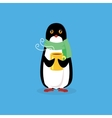 Animal Pinguin Design Flat vector image
