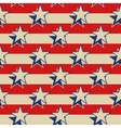 Stars stripes USA patriotic seamless background vector image