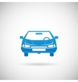 Automobile Symbol Car Silhouette Icon Design vector image