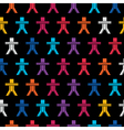 Colorful people vector image vector image