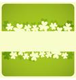 St Patricks Day Card vector image