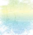 Pastel grunge background vector image