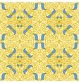 Seamless pattern Art Nouveau vector image