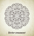 Vintage pattern Hand drawn abstract background vector image