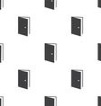 open door seamless pattern vector image