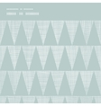 Abstract silver gray fabric textured triangles vector image