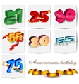 Birthdays and Anniversaries vector image