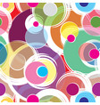 bubble ornamental background circle seamless vector image