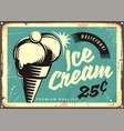 Vintage ice cream vector