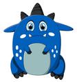 sad monster cartoon vector image