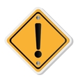 traffic sign icon vector image