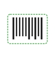 Cutting Bar Code vector image
