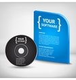 Cool Realistic Case for DVD Or CD Disk vector image