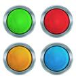 set of colorful glossy green lampshades krasnog vector image