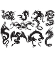 Dragons vector
