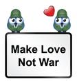 Make Love vector image