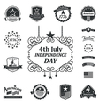 Independence day american sign background vector image vector image