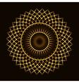 Abstract cosmic circle vector image
