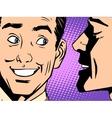 Gossip business concept vector image