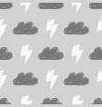 monochrome storm pattern vector image