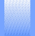 light blue overlay background in optical art style vector image