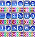 Drink Text file Umbrella Feedback Network vector image