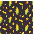 Corn seamless pattern Maize vector image