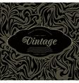 dark vintage abstract background vector image