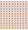 Vintage pattern with strips vector image vector image