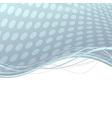 Abstract metal folder swoosh lines background vector image